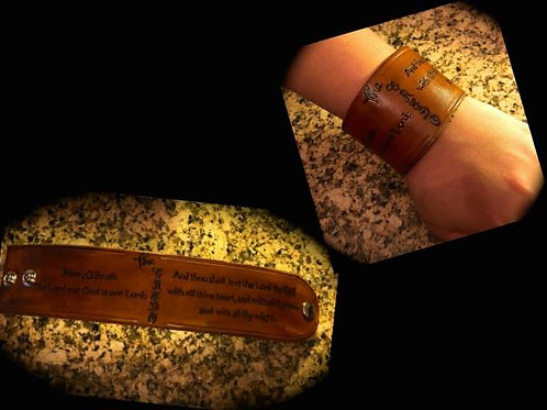 Credo Leather Wrist Cuff