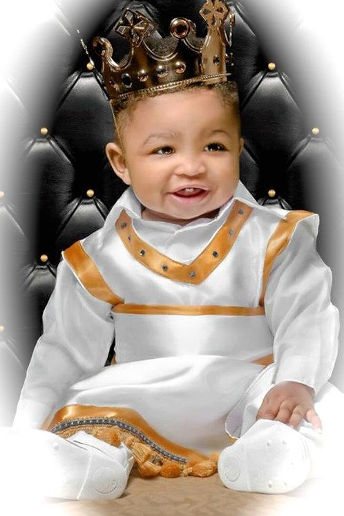 Baby/Youth  Male Royal Fringed/Bordered Tabard