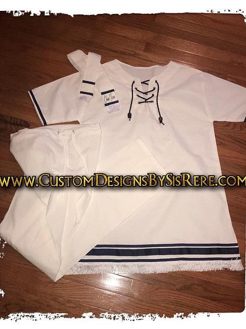 Medium Cotton Fringed Tunic