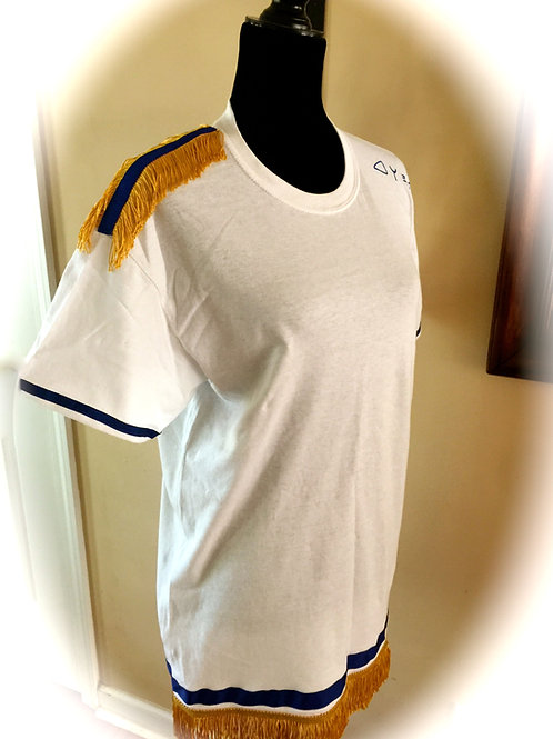 Bro Shirt Gold Fringes & Border (Arms, Shoulder & Waist) & Tribe