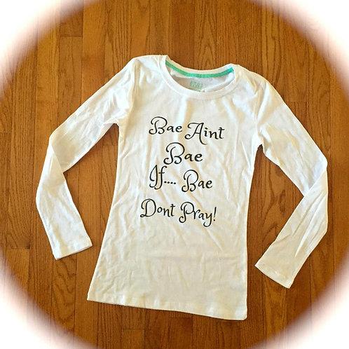 """Bae"" T-Shirt (White)"