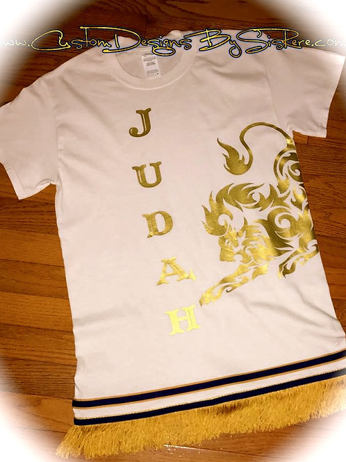 Lion Border & Fringe (Option)Tshirt