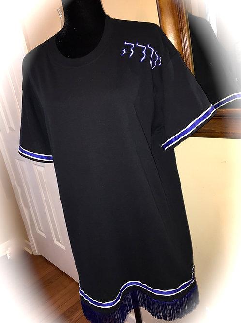 Shirt Fringes & Dbl Border (Arms & Waist) w Tribe