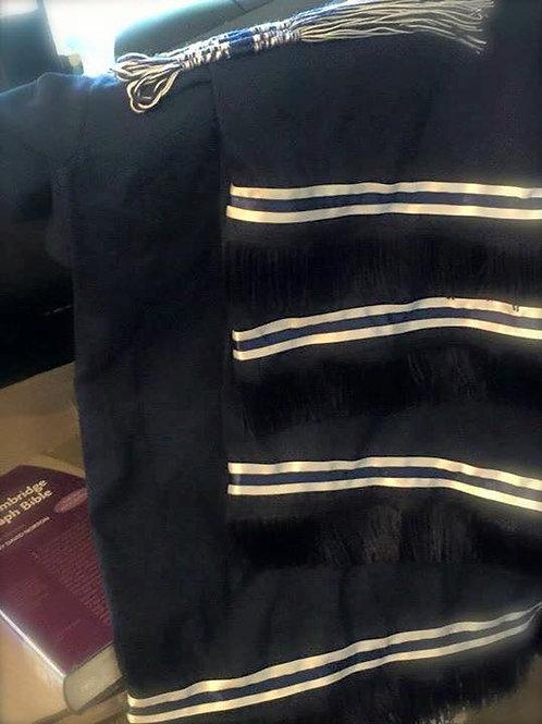 Double Bordered Short Sleeve Shirt w Fringes