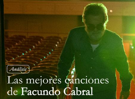 Análisis de las mejores canciones de Facundo Cabral