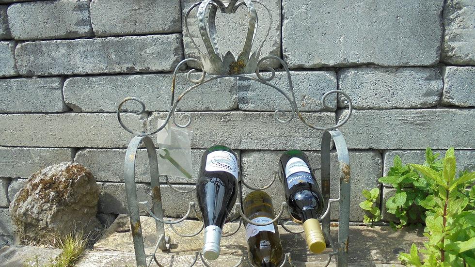 Flaschenständer Krone