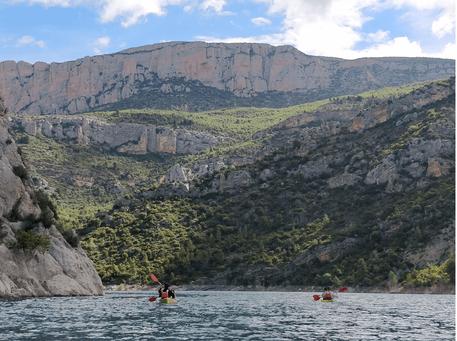 Mont-Rebei Senderismo y kayak