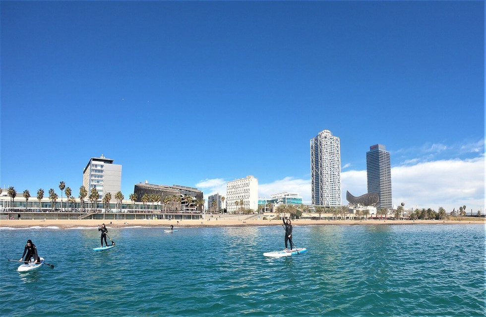 Stand Up Paddle Barcelona