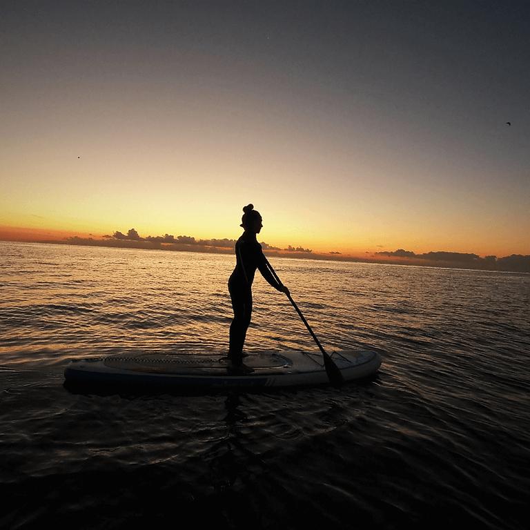 Paddle Surf Barcelona SUP al Amanecer