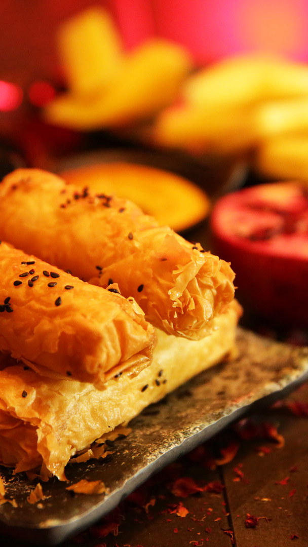 Three-Cheese Cigar Börek
