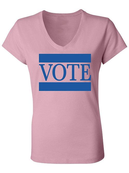 VOTE Tee-PINK & BLUE