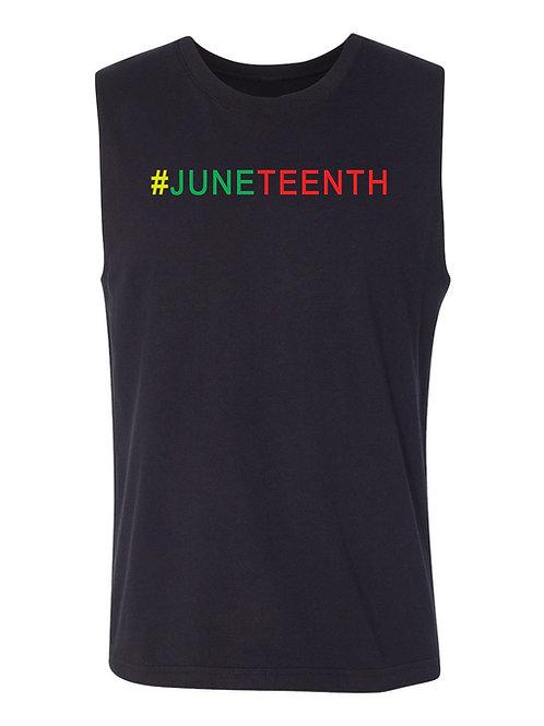 #JUNETEENTH Muscle Tank-Men's