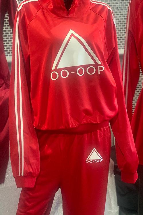 Oo-OOp Track Hoodie -Red PREORDERS ONLY