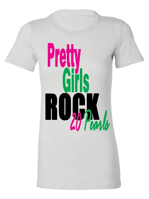 PRETTY GIRLS ROCK 20 TEE