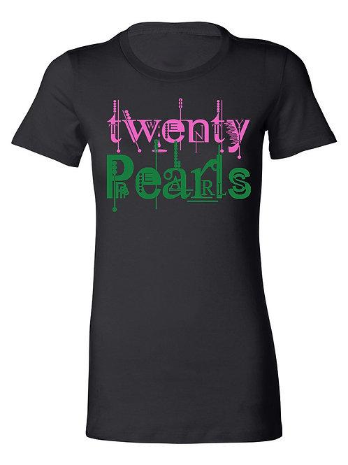 TWENTY PEARLS TEE