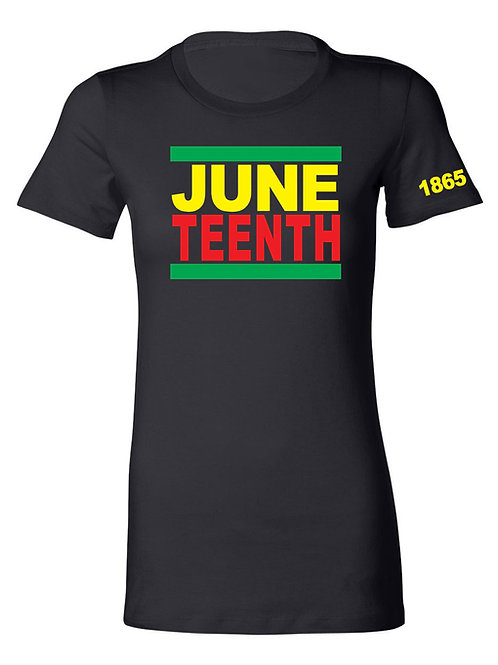 JUNETEENTH 1865 tee-LADIES