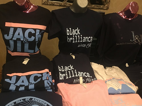 Black Brilliance since 1938 tee