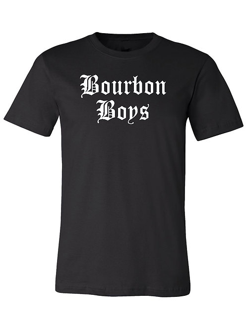 Bourbon Boys TM Tee - Black