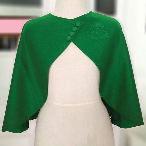 AKA Vintage Capelet - GREEN