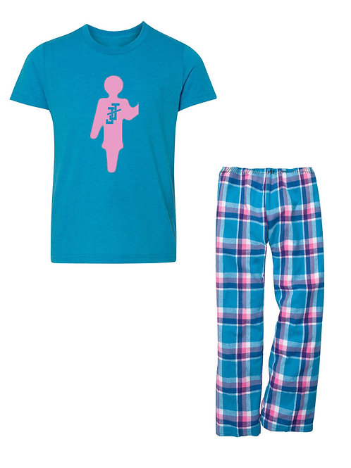 JJ FLANNEL Pajama Set - GIRLS