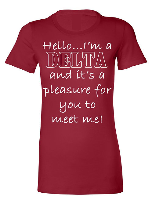 Pleasure to Meet Me (Delta Couture)