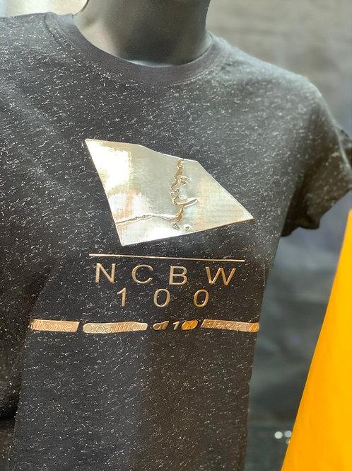 NCBW100 Silver Chrome Tee