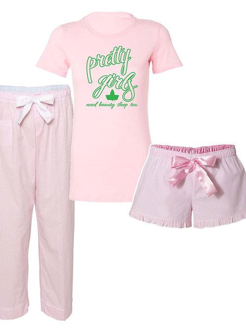 Seersucker Pajama Set