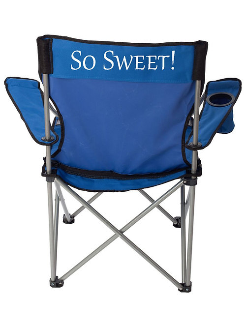 LAWN CHAIR-PERSONALIZED BACK (only)