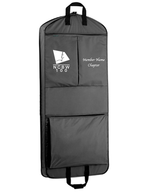PERSONALIZED GARMENT BAG-NCBW