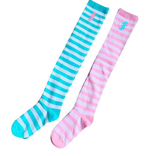 JJ Striped Socks -2pairs