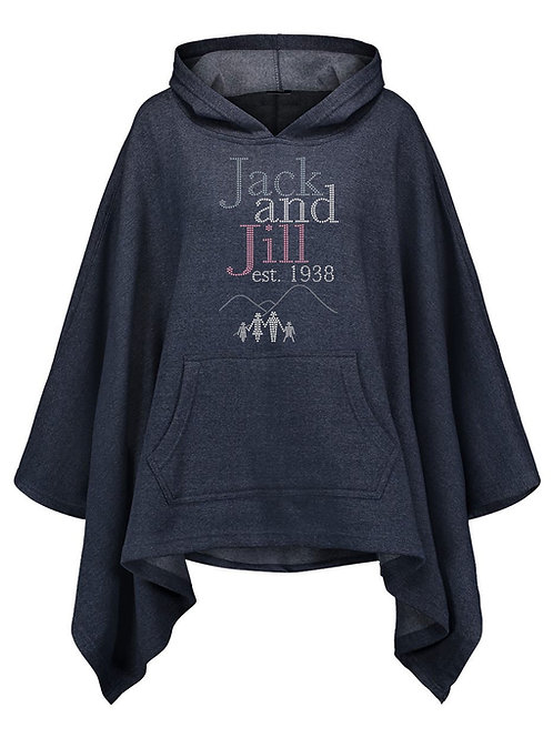 JJ Oversized Hooded Poncho