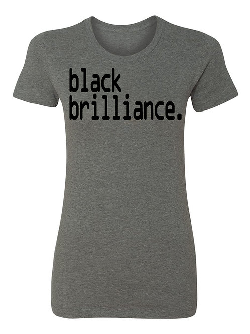 black brilliance tee - Ladies