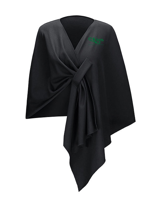 Links Couture Shawl - BLACK