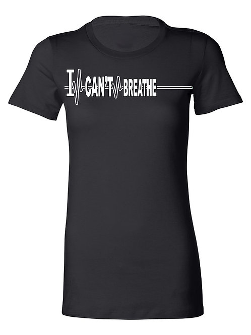 I CAN'T BREATHE....tribute tee (black and white)