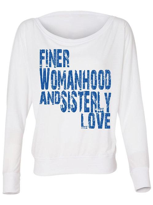 Finer Womanhood & Sisterly Love Tee