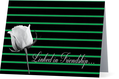 Linked in Friendship Note Cards (FOLDED)