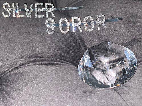 SILVER hair pin