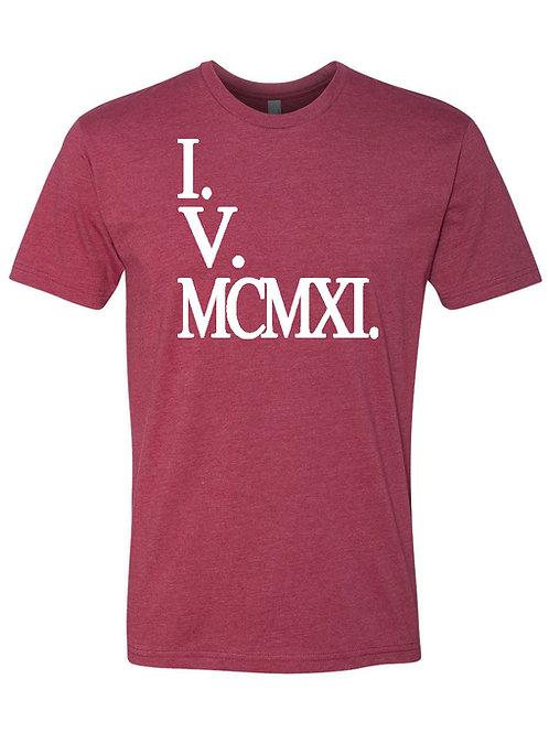 I.V.MCMXI Tee