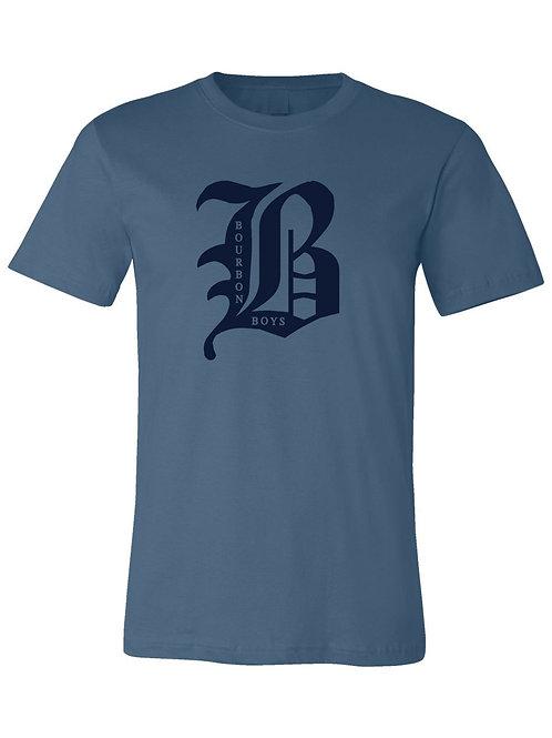 Big B Tee - Blue