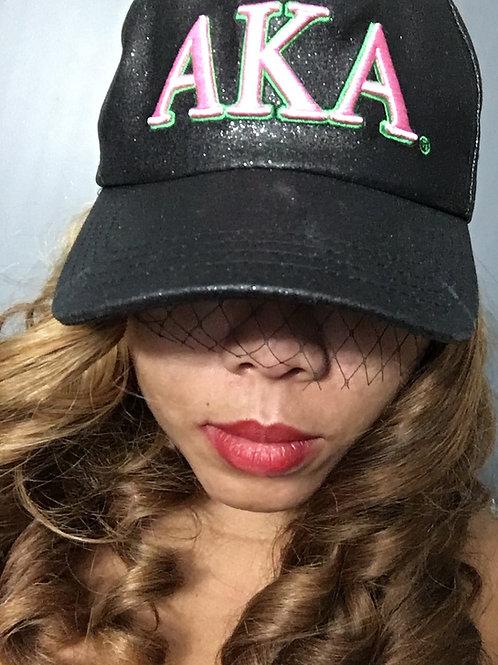 AKA Veiled Snapback Cap