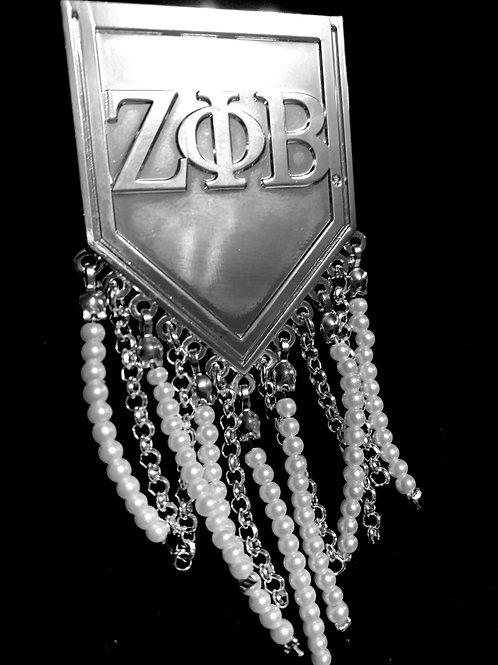 Pearled Pin -Zeta