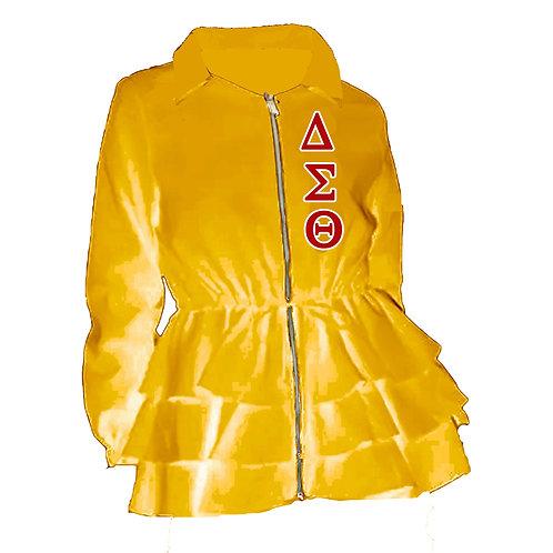 Peplum Line Jacket - ΔΣΘ gold