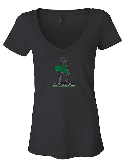 ALPHA COUTURE SOROR-BLACK TEE