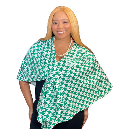 Links Couture Shawl - Houndstooth PREORDER