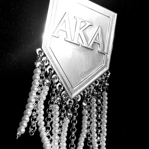 Pearled Pin - AKA