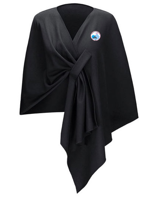 Jack and Jill Shawl - Black PREORDER