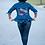 Thumbnail: Delta Divas Only Peplum Denim Jacket