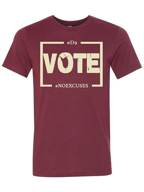 D9 Votes NO EXCUSES - Krimson