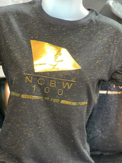 NCBW100 Gold Chrome Tee