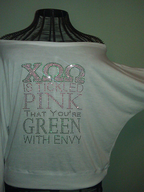 COO IS TICKLED PINK TEE